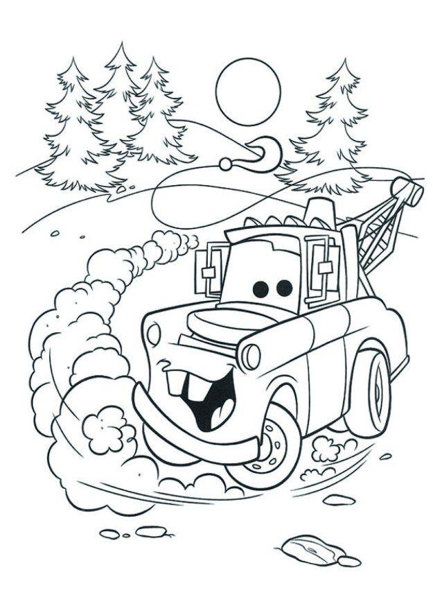 Pin En Dibujos Cars Para Colorear