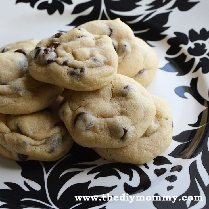 The Softest Chocolate Chip Cookies by The DIY Mommy