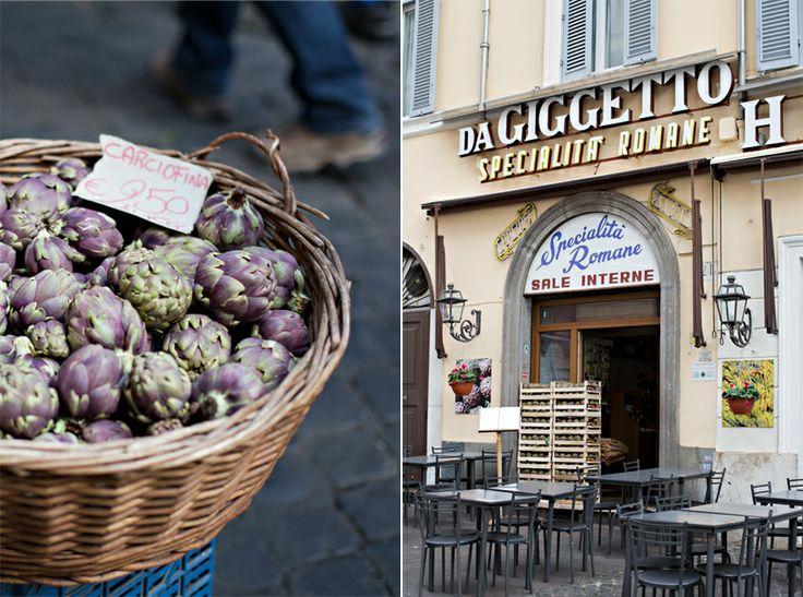 Da Giggetto al Portico d'Ottavia - Roma, Ghetto ebraico