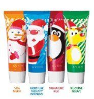 Avon Holiday hand cream45ml each one set of 4 by Avon. $8.00. HOLIDAY PRINTS... ALL NEW