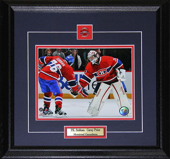 Carey Price & PK Subban Montreal Canadiens by MidwayMemorabilia