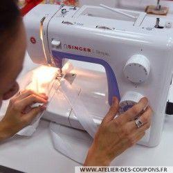 Mardi 20 decembre 10h-13h Tout savoir sur la machine - Cours de couture
