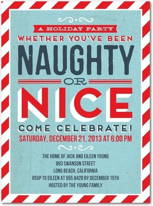 jenna s card naughty comes nice flat holiday party invitations