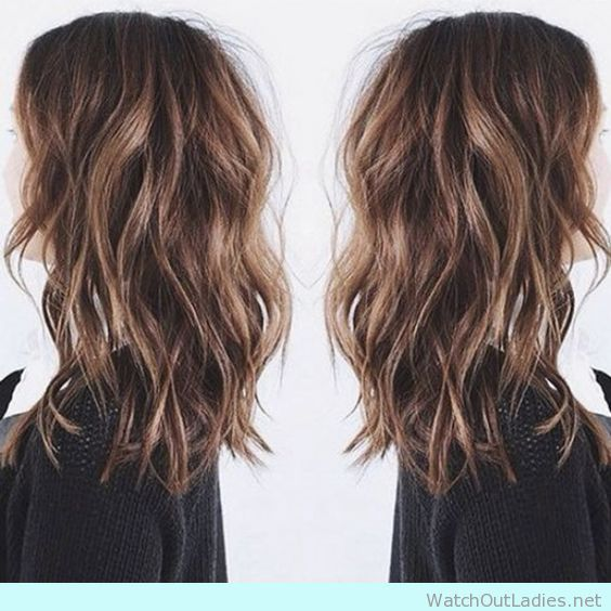You gotta try this balayage haircolor this winter