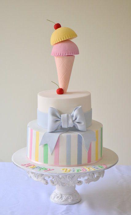 ice cream cake  Cake by suzie