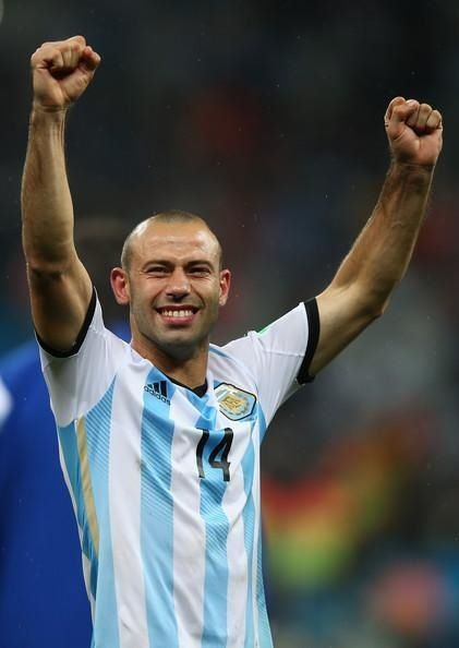 Mascherano...the BEST player of World Cup BRASIL 2014!!