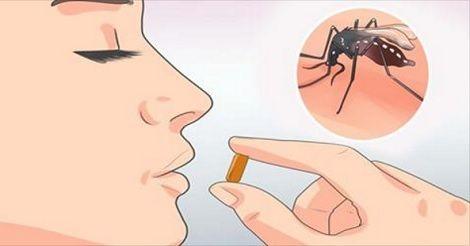 Gli scienziati hanno scoperto che c'è una particolare vitamina che stimola la produzione di un odore particolare che tiene lontane le zanzare. Infatti coloro che
