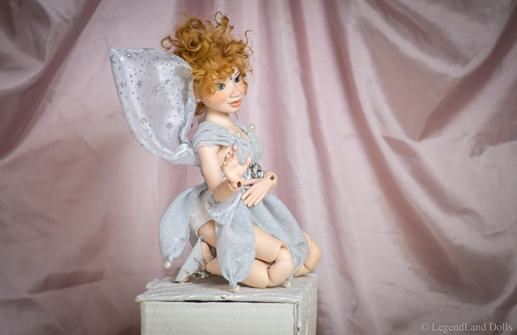 Art doll, One Of A Kind Doll. Fatime is a porcelain moveable doll by LegendLand Dolls