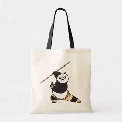 Po Ping Dragon Warrior Tote Bag Kungfupanda3 Official Merchandise