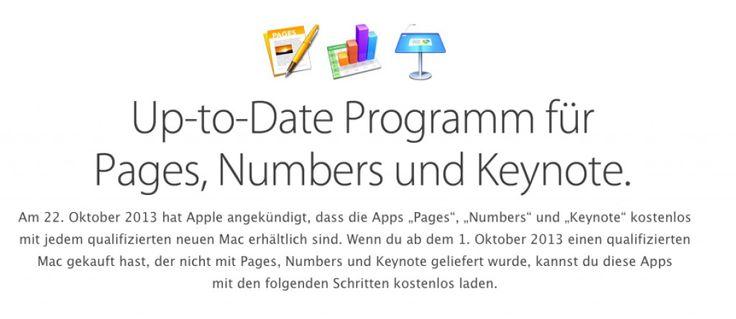 Apple glaubt an Euch! Pages, Keynote, Numbers kostenlos für alle? - http://apfeleimer.de/2013/10/apple-glaubt-an-euch-pages-keynote-numbers-kostenlos-fuer-alle - Komplette Apple iWork Suite mit Pages, Numbers und natürlich Keynote kostenlos! Und auch Aperture 3.5 gibts als kostenlosen Download DIREKT über dem Mac App Store! Wie ihr an die kostenlosen Updates von iWork 13 für Mavericks und Aperture 3.5 kommt erfahrt ihr hier. Apple hatte im Rahmen der Ke...