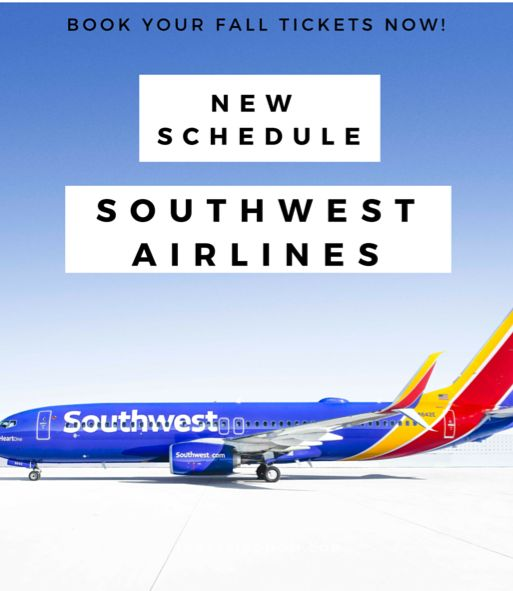 southwest airlines schedule