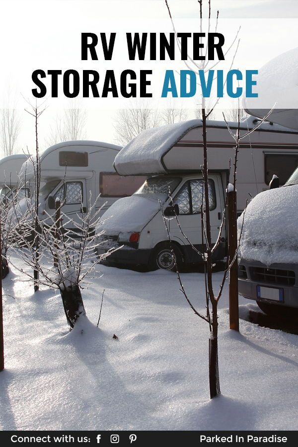 RV Winterizing Checklist   Rv winterizing, Rv winter ...