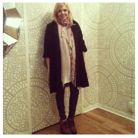 Ivana Helsinki coat spotted on Pose by bollare #streetstyle