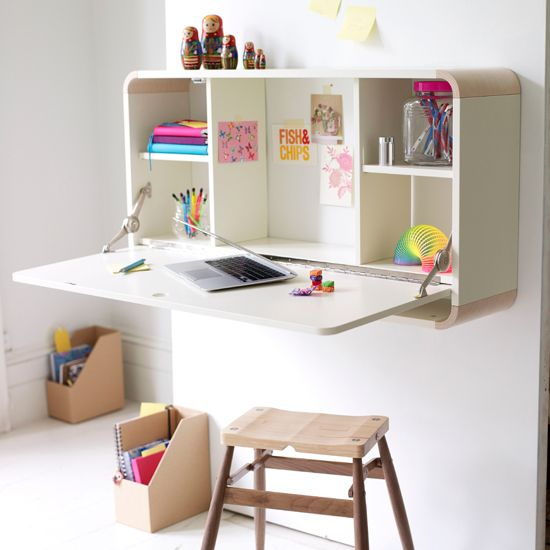 Superieur A Wall Mounted Desk Is Such A Space Saver. Multi Functional, Convenient,  And Also Simply Trendy It Can Aid You Create An Useful Home Office In A  Snap.