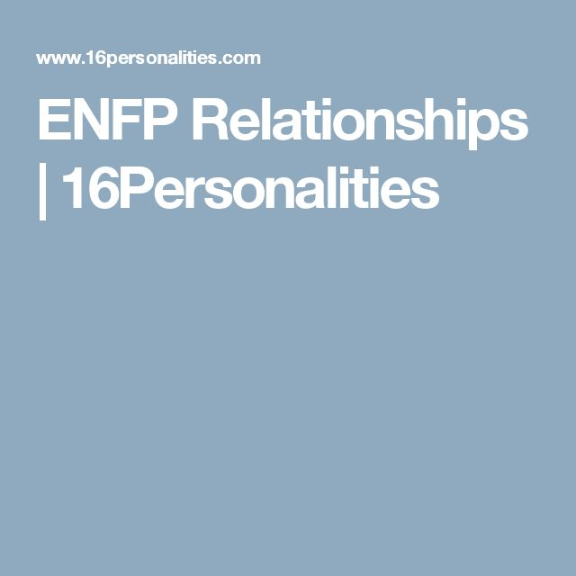 enfp dating advice