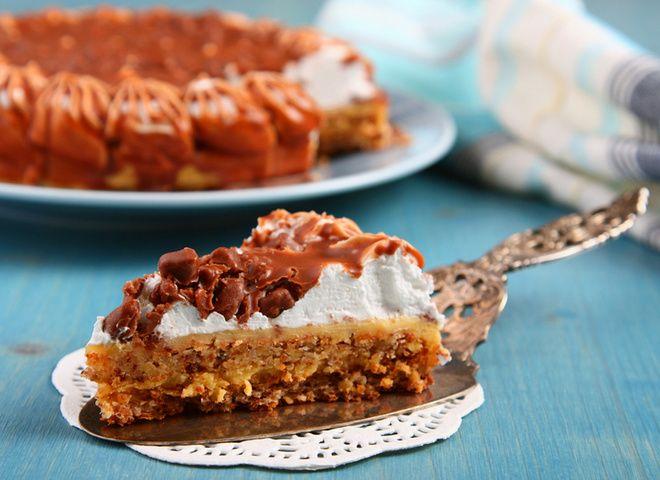 Шведский торт, ссылка на рецепт - https://recase.org/shvedskij-tort/  #Выпечка #блюдо #кухня #пища #рецепты #кулинария #еда #блюда #food #cook