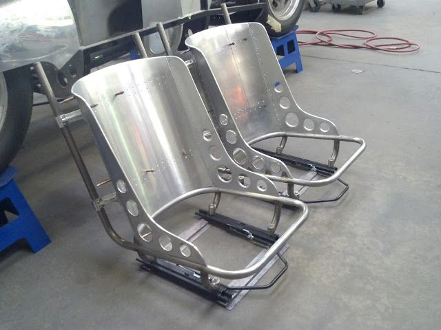 Hot Rod Seats Stainless Aluminum Metal Shaping