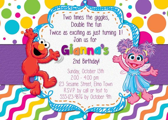 The 25 best Elmo invitations ideas on Pinterest Elmo party