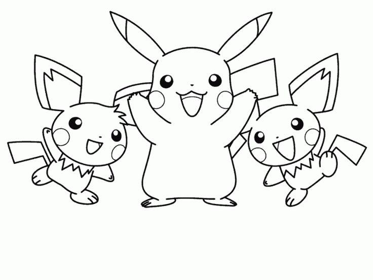 Coloriage Pokemon Dessin Animé et Dessins à colorier - Coloriage ...