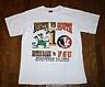 Vintage 1993 NOTRE DAME vs. FSU BATTLE FOR #1 T-SHIRT-L-Florida State Seminoles/Irish-football