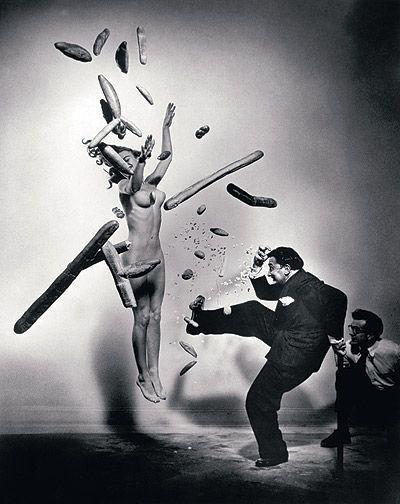 Salvador Dali par Philippe Haslman