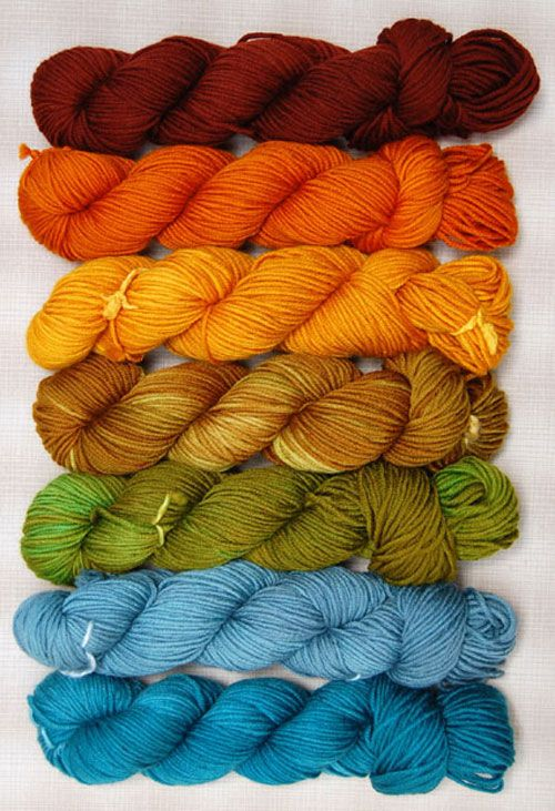 I would love a fair isle sweater (cardigan!) with these colors.