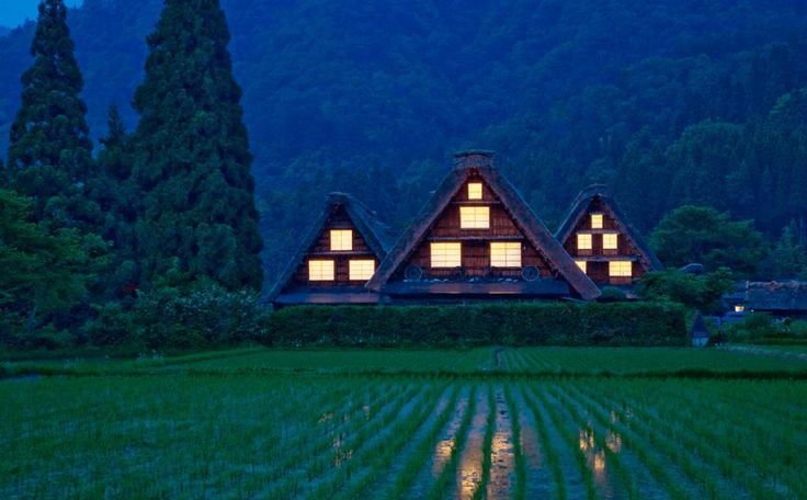 岐阜県白川郷の画像_日本の世界遺産