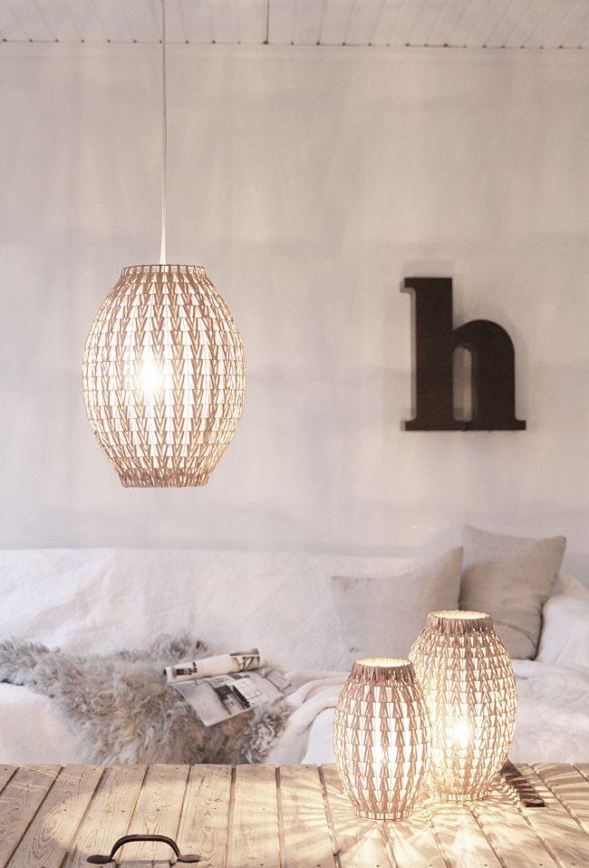 Pendant and table lighting