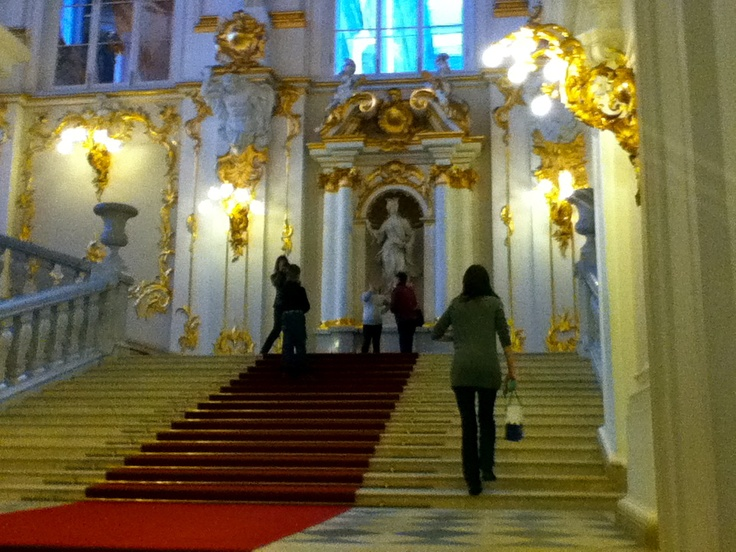Inside the Hermitage, St. Petersburg