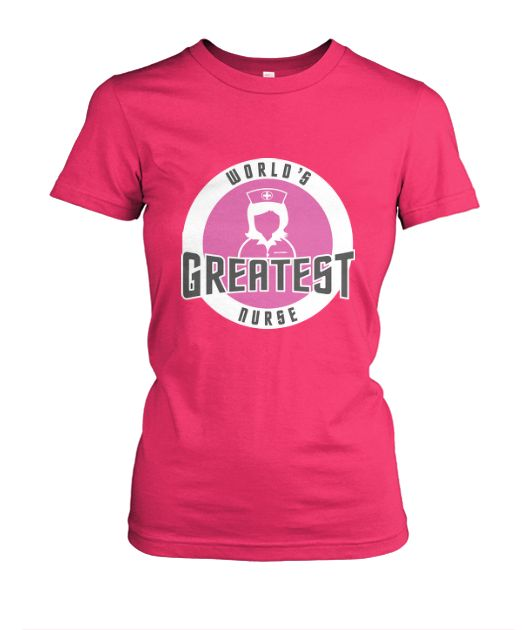 WORLD'S GREATEST NURSE Available on Short & Long Sleeve Tees, Tanks & Hoodies. #nurse #nurses #nursing #cpn #rn