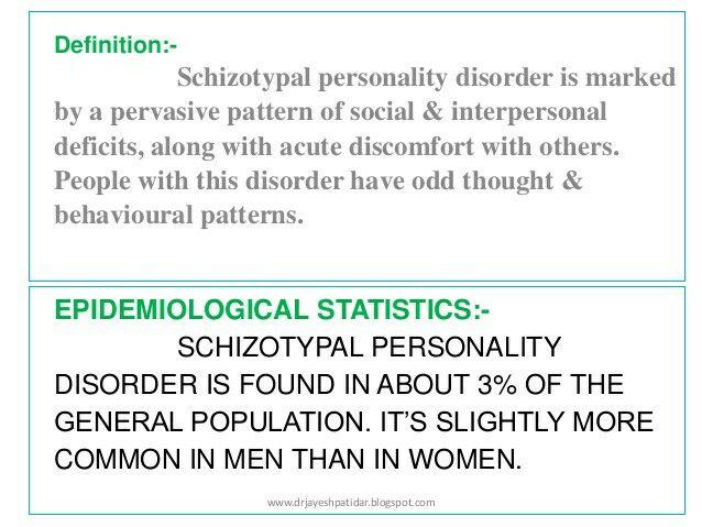 Schizotypal Personality Disorder (STPD)