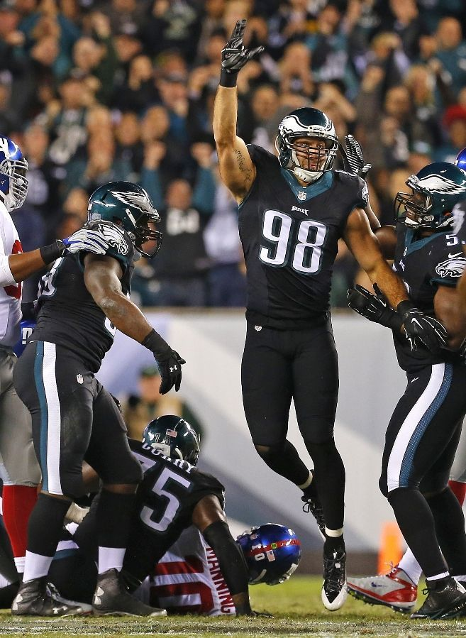 Connor Barwin, Philadelphia Eagles One of my fav Eagles along with Nick Foles and Randall Cunningham