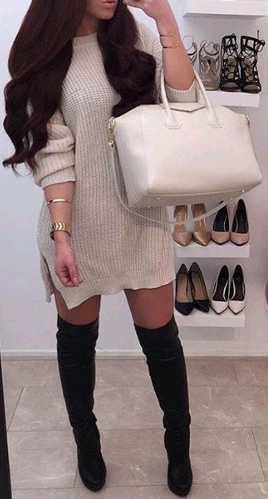 Knee-high boots!