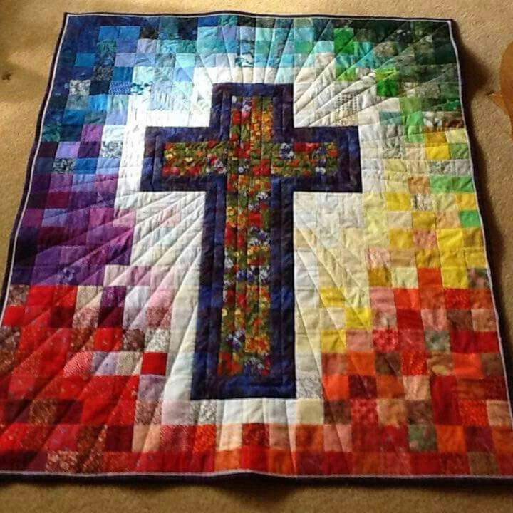 Exquisite Handmade Quilt! A true art form.