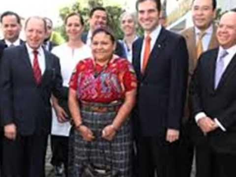 Confirma INE pago de 10 mil dólares para visita de Rigoberta Menchú