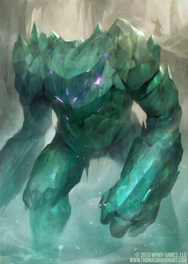 Ice Man Cometh by mahons.deviantart.com on @deviantART