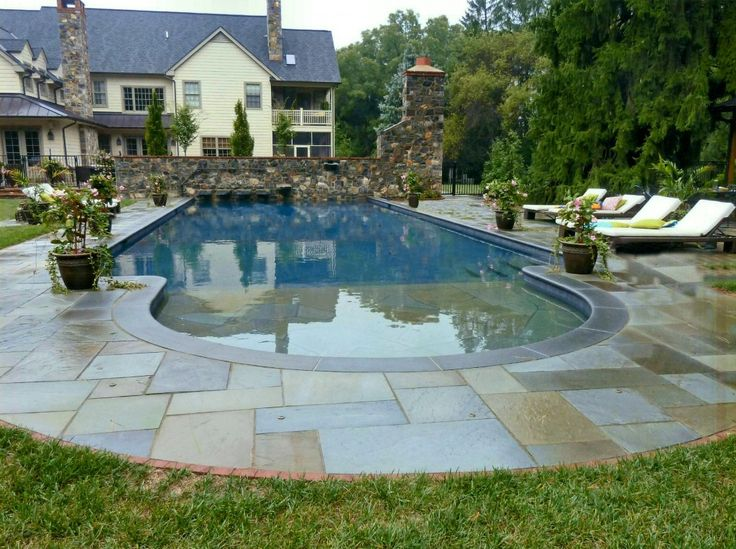 Inground pool decking cheap pool deck building with for Affordable pools dfw
