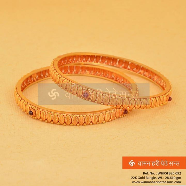 #Beautiful, #attractive, #classy, #simple #gold #bangles from our all new collection.
