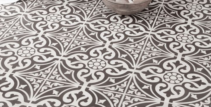 Victorian Ceramic Floor Tile - (331x331) - Made in England - SAMPLES in Home, Furniture & DIY, DIY Materials, Flooring & Tiles | eBay