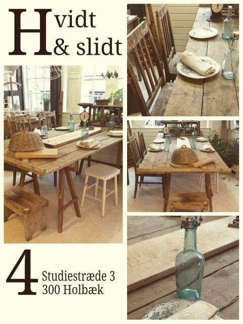 Nordic living. Fransk landstil og vintage. Hvidt & Slidt, Studiestræde 3, 4300 Holbæk
