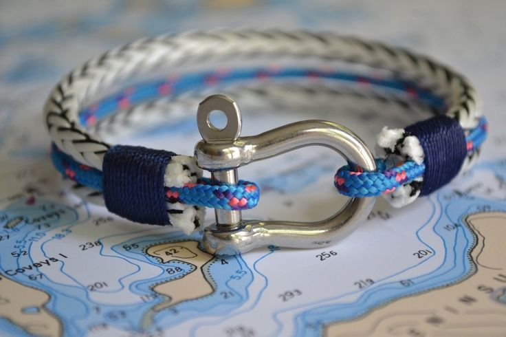 Nautical Jewelry Bracelet Sailing Hardware, Etsy - mens gold jewelry online, mens silver jewelry designers, jewelry mens bracelets