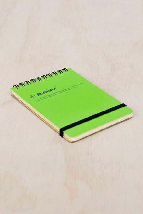 Buy Delfonics - Rollbahn Notebook - Grid - Pocket (10x15cm) - NoteMaker Stationery