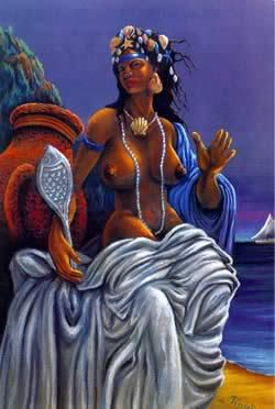 yemaja west african yoruba tribe sea goddess