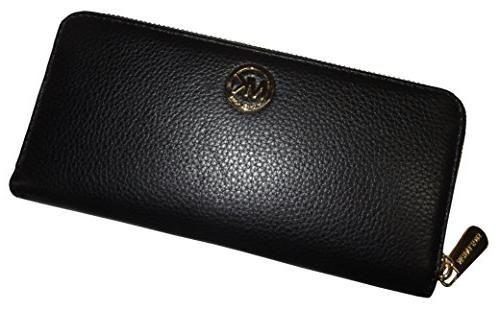 Michael Kors Fulton ZA Continental Wallet - Black