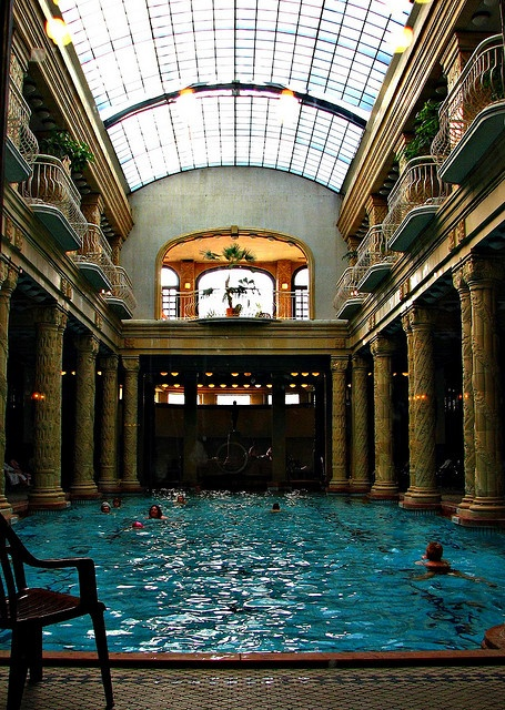 Gellert Baths in Budapest, Hungary