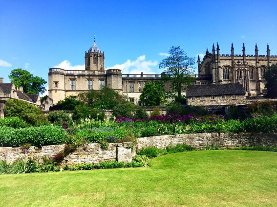 Stumbled across this beautiful scene in the gardens of Christ Church in Oxford, England. It was definitely worth the trip from London!