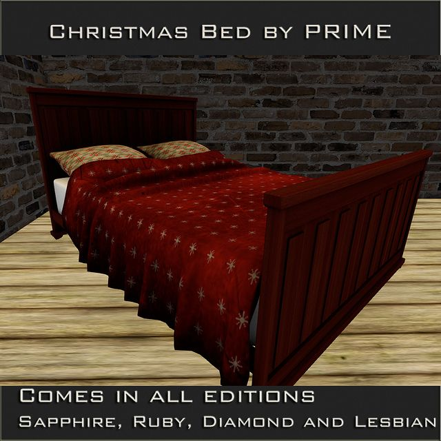 Christmas bed by PRIME The Collage Exclusive | Flickr - Photo Sharing!