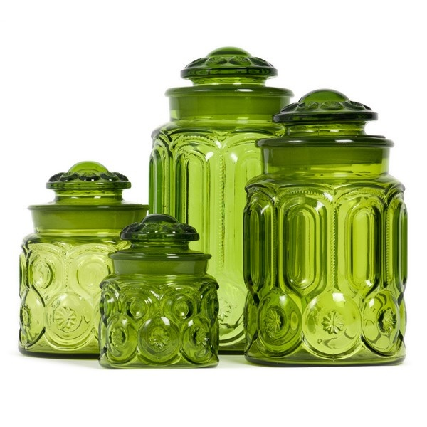 Red Kitchen Glassware: 25+ Trending Vintage Canisters Ideas On Pinterest