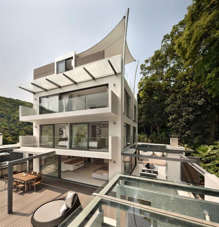Architektur, Moderne Häuser, Moderne Architektur, Exterieur Design,  Traumhäuser, Strandhäuser, Haus Design, Frisch, Architektur