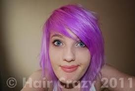 directions violet hair dye